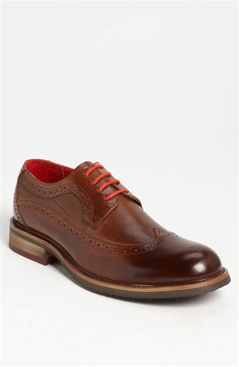 steve madden oxford shoes steve madden kittch wing oxford in brown for