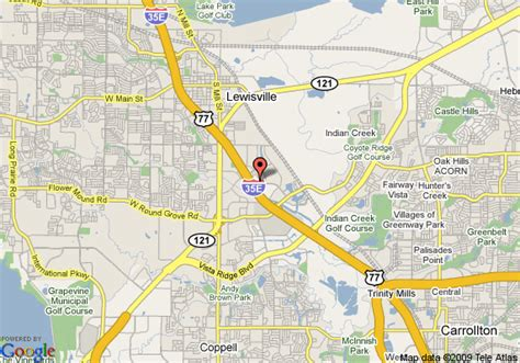map of lewisville texas map of suburban extended stay lewisville