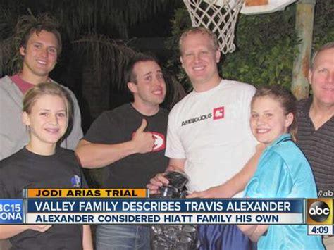 travis alexander siblings names who are travis family members who are travis alexander