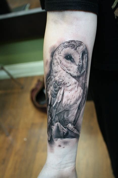 Owl Tattoo Realism | amazing realism owl tattoo interesting pinterest