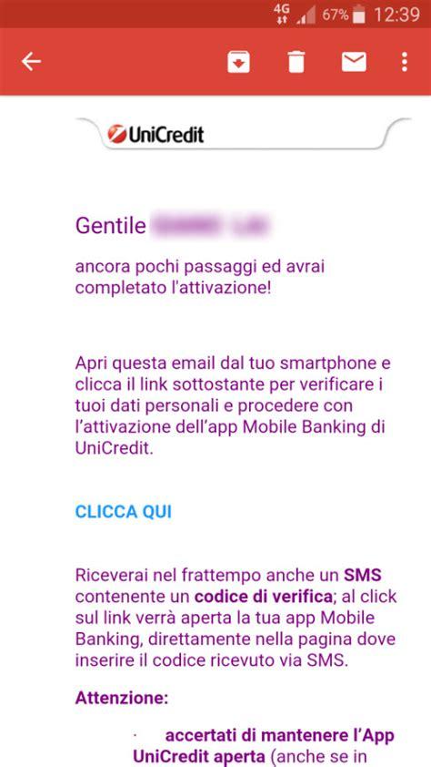 www unicredit it servizio di multicanale riattivazione dell app mobile banking unicredit