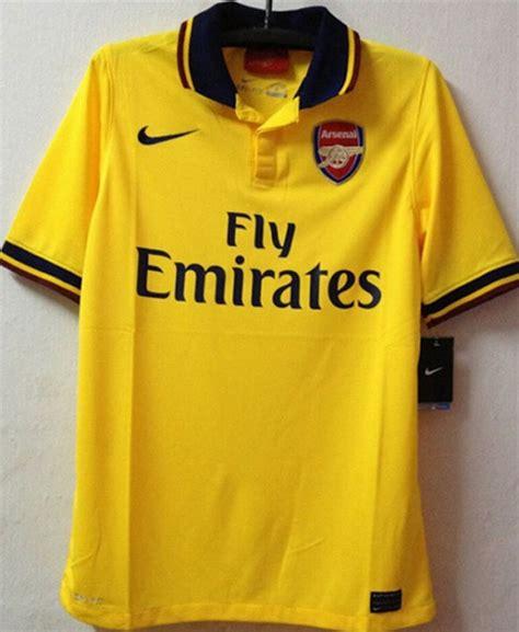Arsenal Prematch Jersey Merah Garis 2015 bola net bocoran jersey arsenal away 2013 2014
