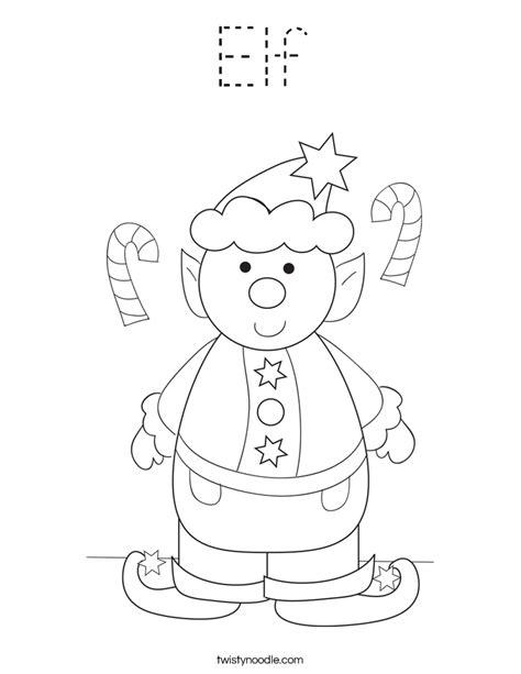 mrs claus coloring page twisty noodle elf coloring page tracing twisty noodle