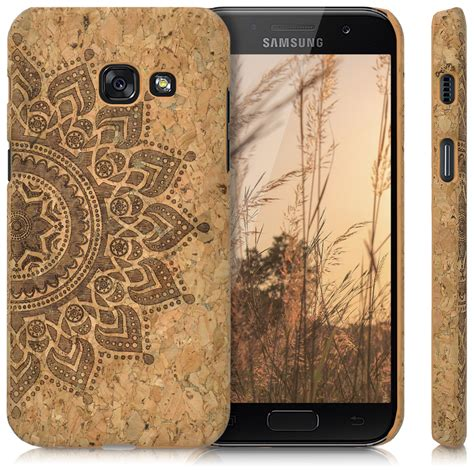 Hardcase Fuze Samsung Galaxy A3 kork schutzh 252 lle f 252 r samsung galaxy a3 2017 kork h 252 lle smartphone handy ebay