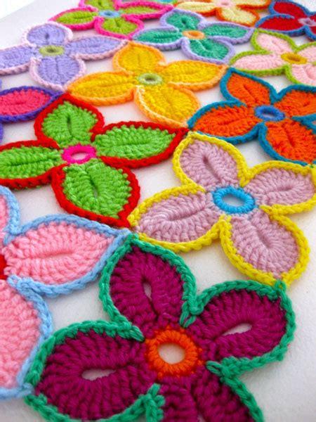 crochet pattern hawaiian flowers hawaiian flower crochet motif make
