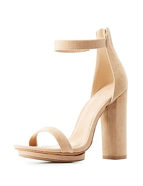 Two Block Heel Sandal - two block heel sandals russe