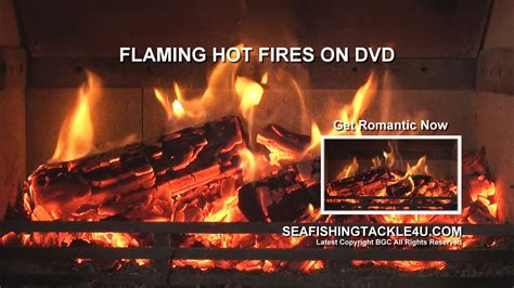 These Are Just Flames Burning In Your Fireplace by Log Fires Dvd Sea Fishing Tackle And Lure Fishing