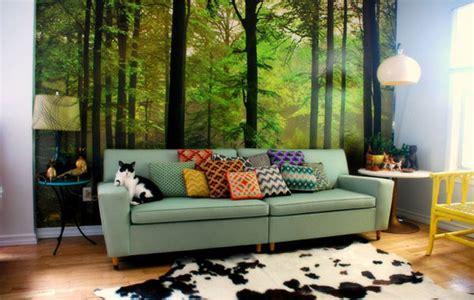 forest themed living room četiri najčešće pogreške pri odabiru boja uređenje interijera uredi svoj dom