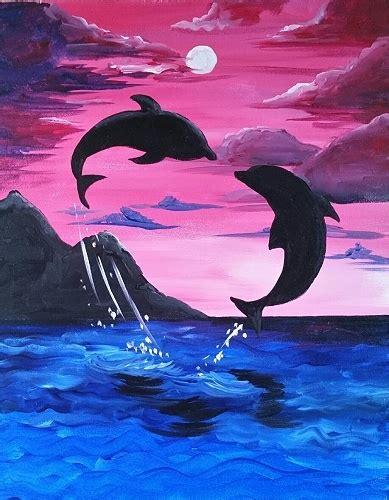 paint the nite island paint nite soulmate of the sea