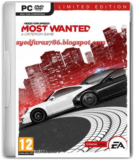 free download full version games need speed most wanted pc need for speed most wanted 2012 pc game free download full