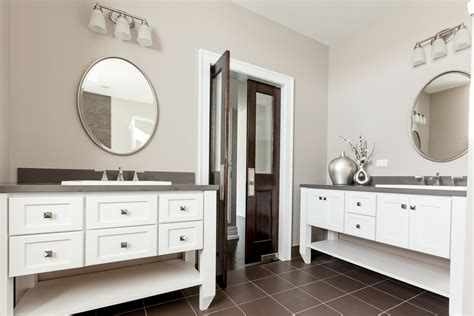 His And Hers Vanity by Molson Arch 187 Bathrooms