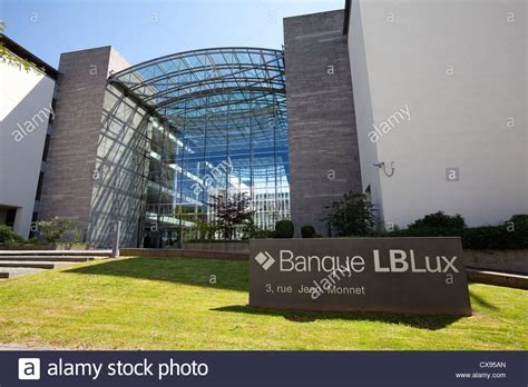 bank in luxemburg banque lblux bank building kirchberg district city of