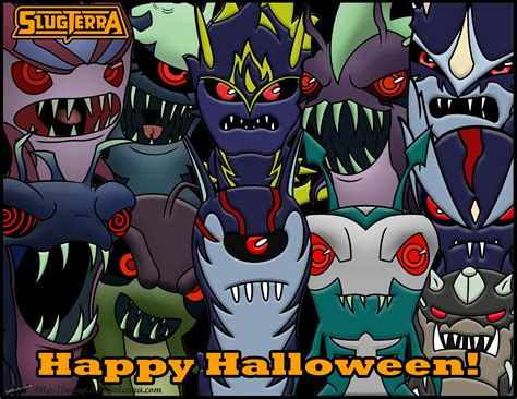 Happy Halloween from the Ghouls from Slugterra!   SKGaleana