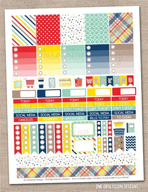 printable christmas planner freebie urban eve ink obsession designs new weekly printable planner stickers