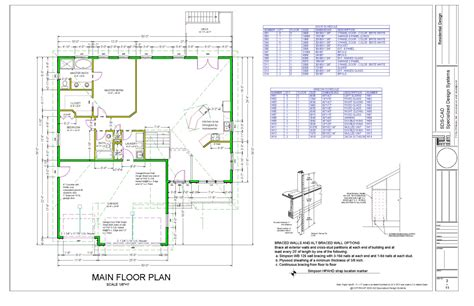 custom plans autocad house plans free 171 unique house plans