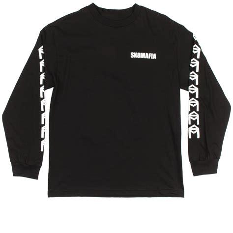 Tshirt Sk8 House Mafia sk8 mafia og house sleeve t shirt black