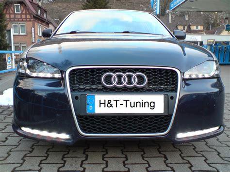 Audi A4 B5 Leuchtmittel by Scheinwerfer Led Tagfahrlicht Audi A4 B5 Chrom Neu Ebay