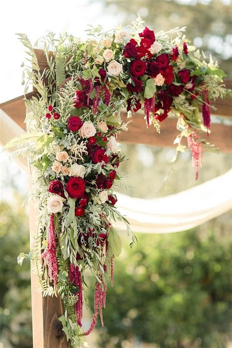 Wedding Arch Flowers by 32 Lush Fall Garden Wedding Ideas Weddingomania