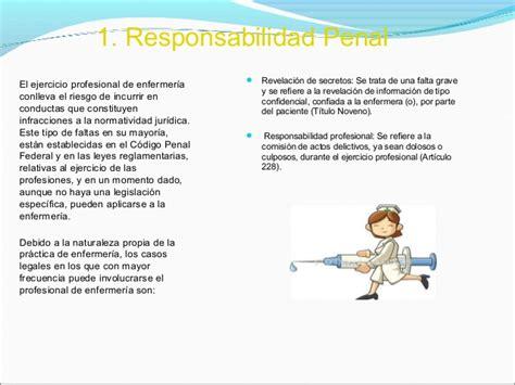 responsabilidad penal en enfermeria hd pics trabajo del profesor marco botacio yahaira