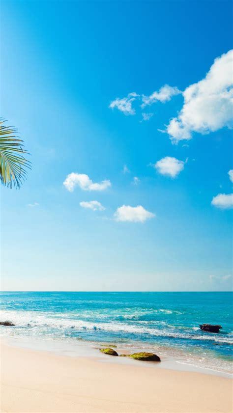wallpaper for android beach tropical beach phone wallpaper wallpapersafari