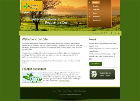 biography website templates free download 10 free responsive website templates 2013