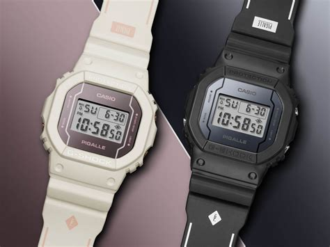 Limited Edition Casio G Shock Dw 5600 Black pigalle x g shock dw 5600 2017 limited edition pair g central g shock