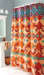 shower curtains southwestern style home decoration club