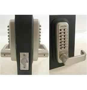 lockey 2835dc keyless mechanical digital sided