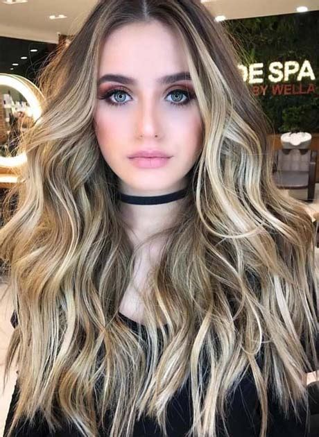 older eoman eith balayage highlights natural looking balayage highlights for 2018 ideas for