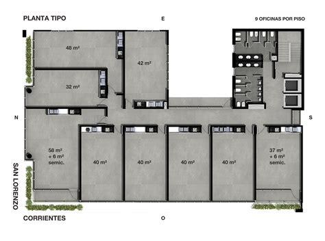 foss ii edificio de oficinas corrientes esquina san lorenzo ideas  proyectos