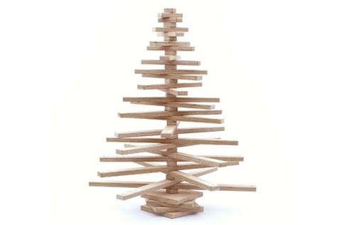 ply wood christmas trees onetwotree