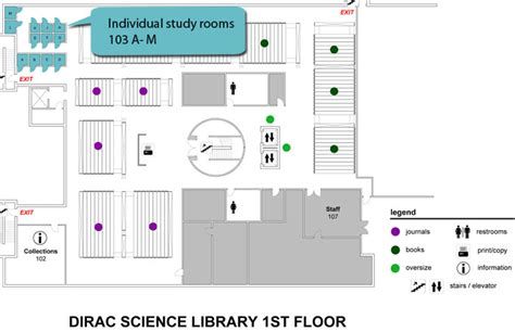 Library Room Booking by Dirac Science Library Room Booking Maps Florida State