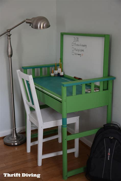 How To Make A Changing Table I Repurposed A Changing Table Into A Desk Diy Furniture Makeovers