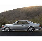 Ultra Rare Mercedes 560 SEC AMG Wide Body 60 Up Is A