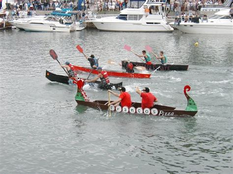 crash dragon boat race build a boat then crash it at canal fest the buffalo news