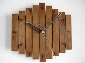 Wood Clock Romb 20x20cm 8x8 Silent Wooden Wall Hanging Clock Wood By
