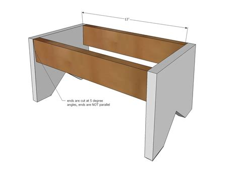 Build A Simple Stool by Build A Simple 1x10 Single Step Stool Bathroom Tutorials