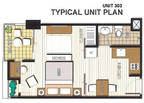Granny Unit Plans cebu real estate properties city loft residences condotel