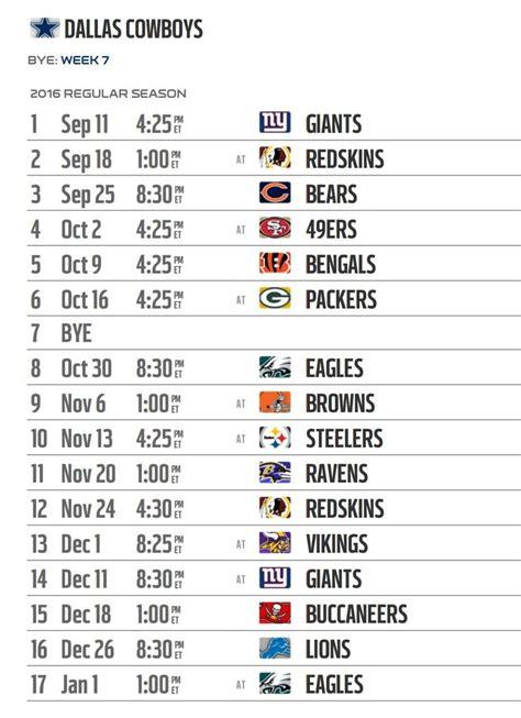 Calendario De Dallas Best 25 Dallas Cowboys Football Schedule Ideas On