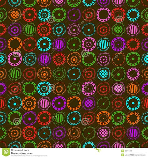design elements textiles seamless background with colored abstract elements royalty