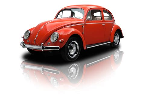 red volkswagen beetle red 1956 volkswagen type 1 beetle for sale mcg marketplace