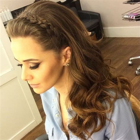 bridal hairstyles step by step instructions wedding hairstyle for long hair riding the braid wave