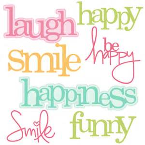 happy words svg cutting files cut files for cricut
