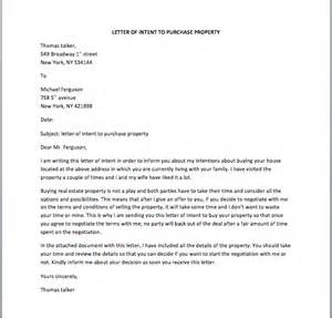 Letter Of Intent To Purchase Land Malaysia Offer To Purchase Property Letter Template Buying A