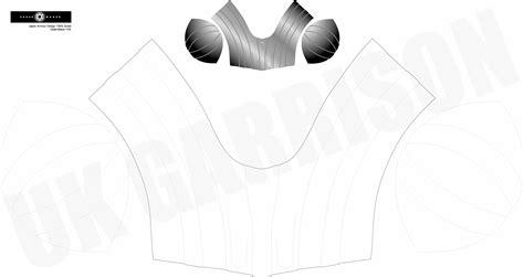 chest armor template vm chest armour template