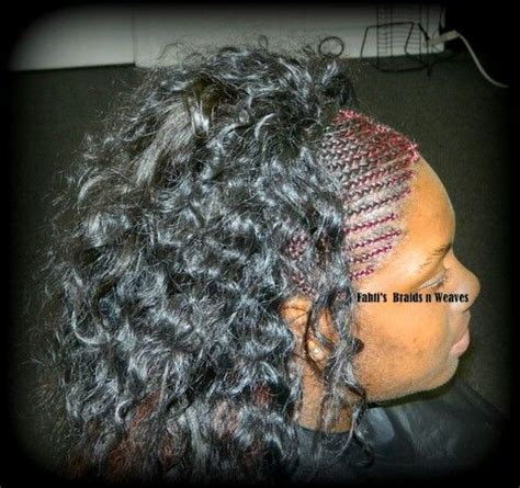 braids in front curly see in in back 374 best images about protective hair styles on pinterest
