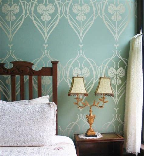 wall stencils for bedroom 25 best ideas about art nouveau bedroom on pinterest