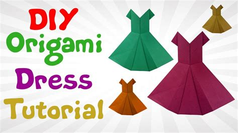 how to make an origami dress diy origami dress tutorial how to make origami dress