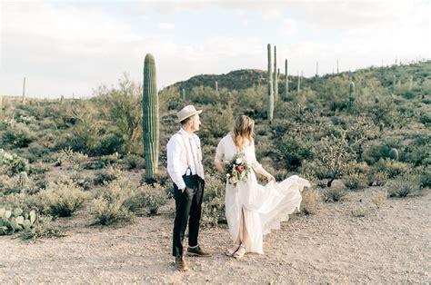 Wedding Planner Tucson by Hip Modern Minimal Tucson Desert Wedding Green