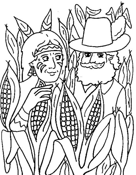 corn coloring pages for thanksgiving indian corn coloring page coloring home